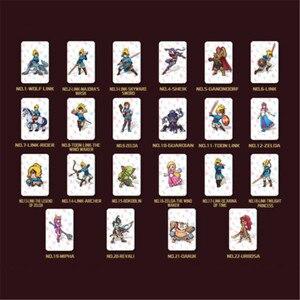 Image 2 - Ensemble complet de MiNi cartes détiquettes en PVC NFC, 24 pièces/lot, Zelda haleine OF THE WILD WOLF LINK, pour interrupteur amiibo