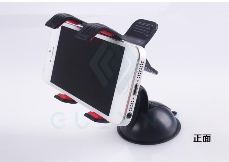 Universal Mobile Car Phone Holder 360 Degree Adjustable Window Windshield