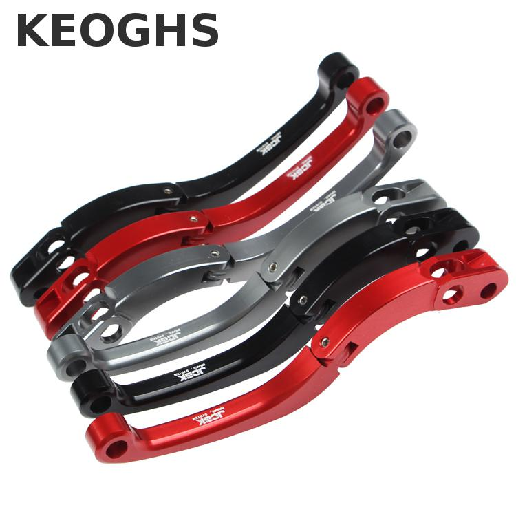 Keoghs Motorcycle Brake Lever Cnc Aluminum Foldable For 19rcs 17.5mm 19mm 16mm Brake Master Cylinder Adelin 7nb Px1 Modify keoghs real adelin 260mm floating brake disc high quality for yamaha scooter cygnus modify