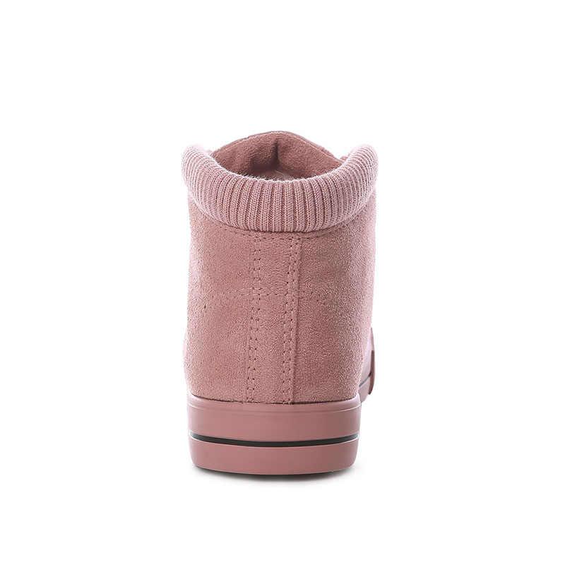 Kadın Botları 2018 Marka Kadın Kışlık Botlar Antiskid Moda Rahat Kar çizmeler kadın ayakkabıları Artı Boyutu
