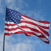 5'x8 באנר דגל ארה
