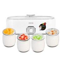 Nathome NSN601 Home Fully Automatic Glass Sub cup Self Made Yogurt Machine Powder Yogurt Maker