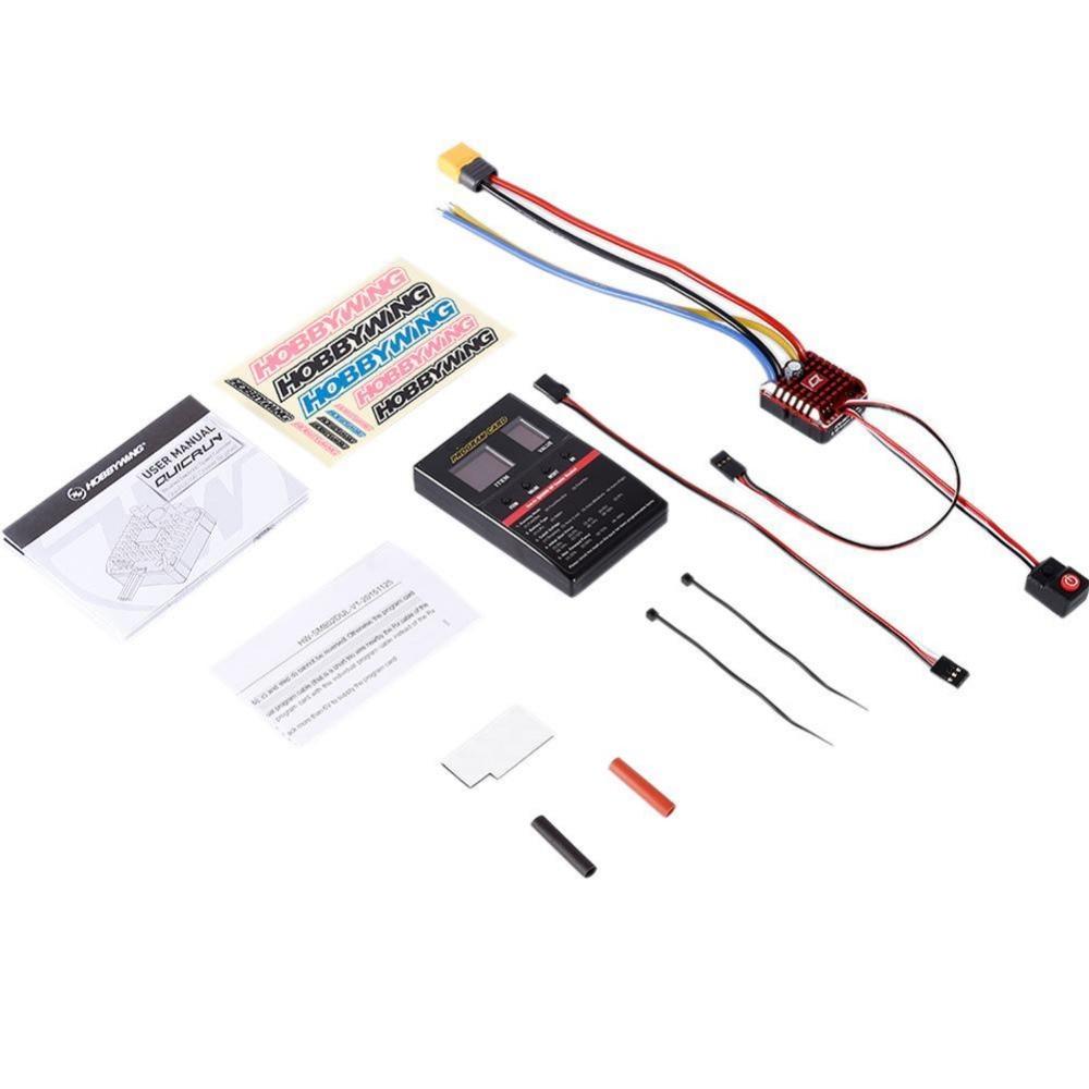 For WP Crawler Brush 1080 80A ESC Electronic 1/10 1/8 Speed Controll ontology based crawler