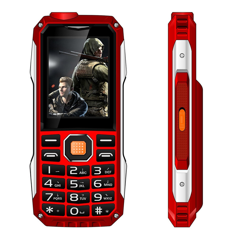 Kuh T998 Rugged GSM New Mobile-Phone Power-Bank No-Need Flashlight Mp4 Mp3 Bluetooth