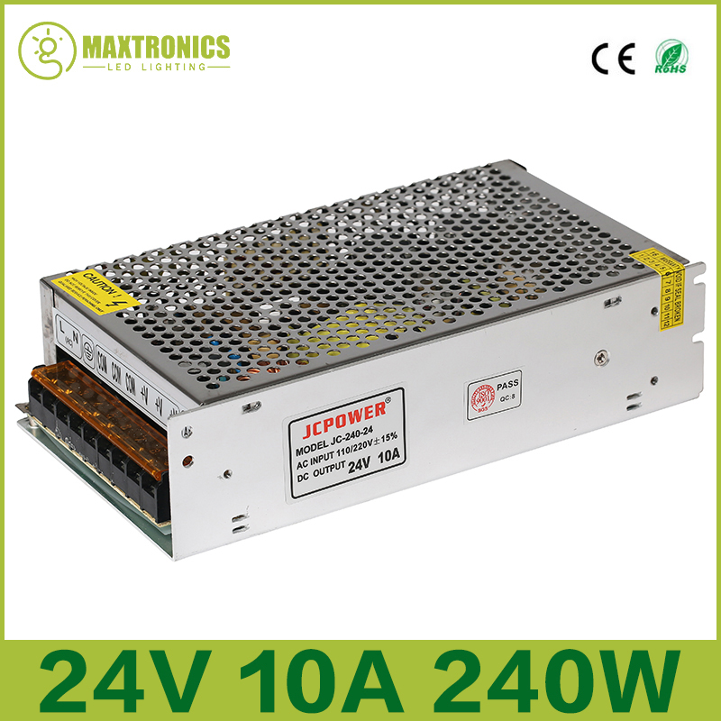 Best price 24V 10A 240W Universal Regulated Switching Power Supply for CCTV Led Radio Free shippingBest price 24V 10A 240W Universal Regulated Switching Power Supply for CCTV Led Radio Free shipping