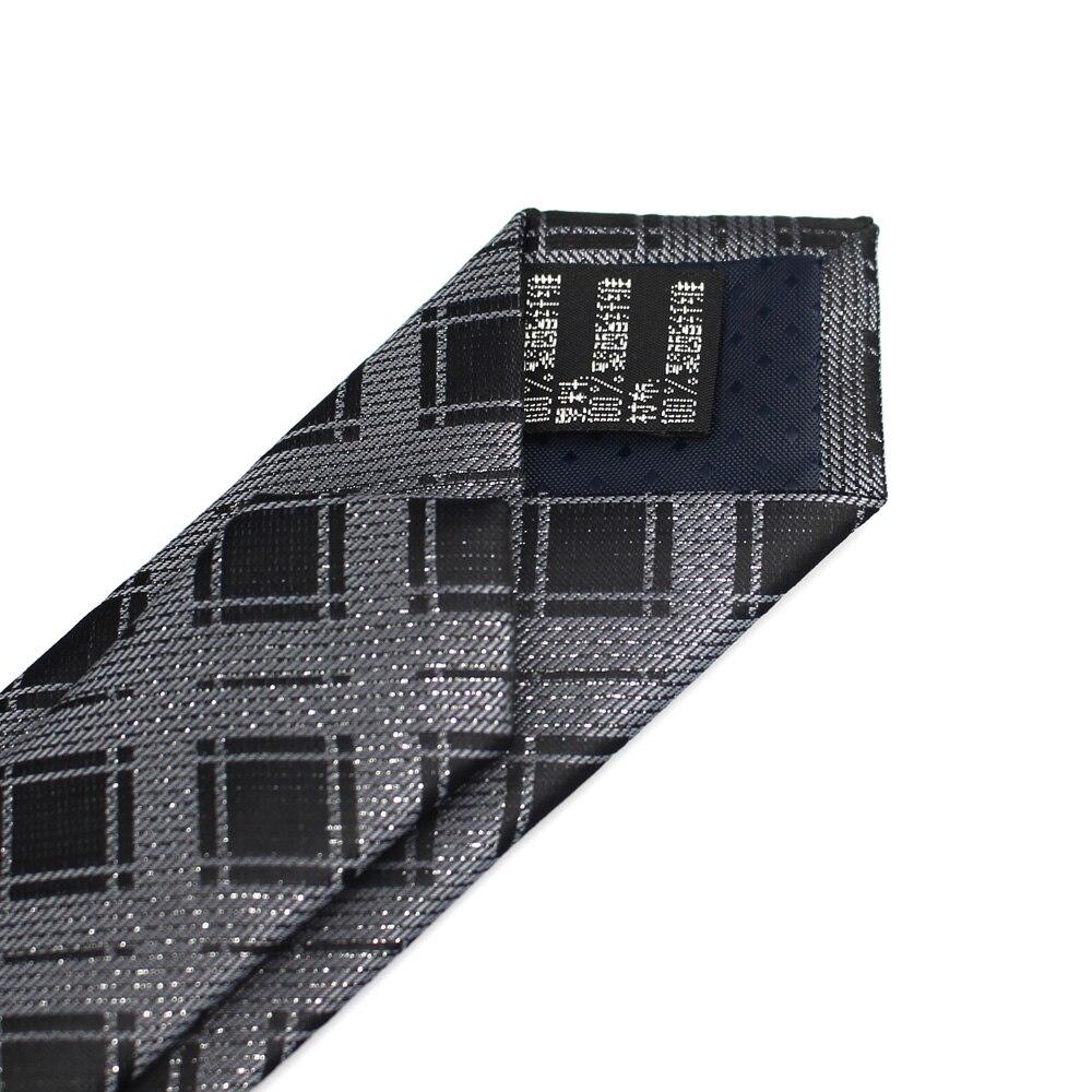Baru pria kasual ikatan ramping, Poliester klasik tenunan pihak dasi, - Aksesori pakaian - Foto 5