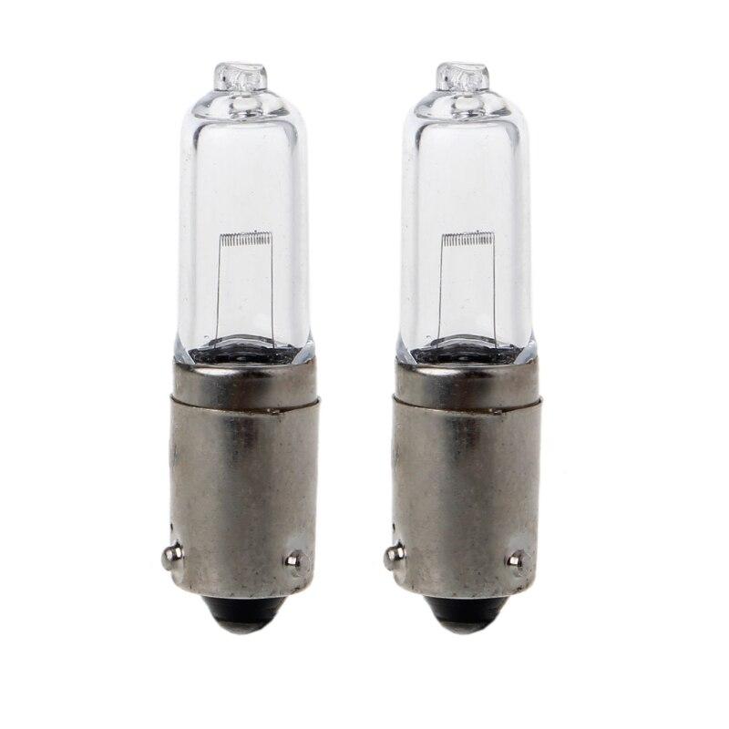 2x BAY9S 250LM  H21W Halogen Light Bulb Backup Indicator Fog Car Lamp 12V 1.9A