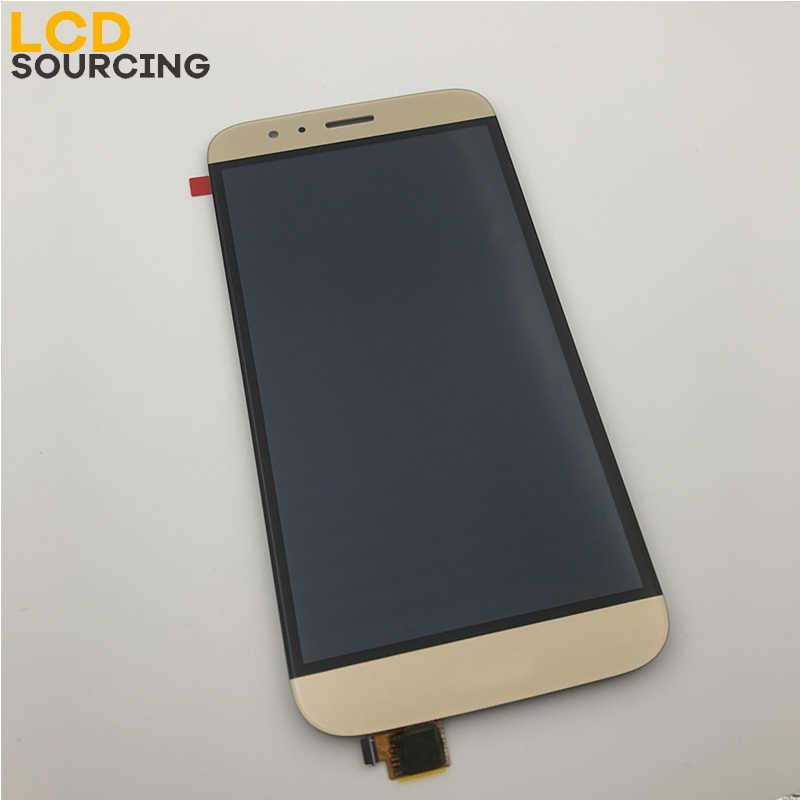 5,5 дюймовый ЖК-дисплей для huawei G8/GX8 сенсорный экран дигитайзер сборка RIO-L01/L02/L03 с заменой рамки экрана