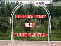 Iron art removable galvanized flower door frame wedding opening cherry blossom arch wedding flower frame climbing pergola