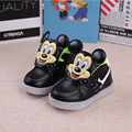 Children Autumn and winter cartoon boy girl light sports shoes led shoes Baby light shoes Portable Baby Shoes YangXi