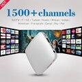 Mini Caja del IPTV Smart TV Caja 1 GB 8 GB A53 Penta Core de 64 Bits 4 K Media Player Set Top Box con HD 1500 Europa REINO UNIDO Francés canales