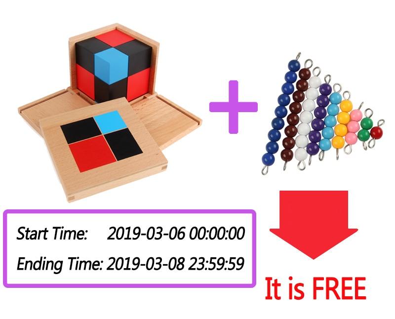 Bloques Cubo Jigsaw Montessori Matemáticos 35 Juguetes Binomial De Se018 Educativos Trinomial Niños 3d Madera Geométrico cRL35q4SAj
