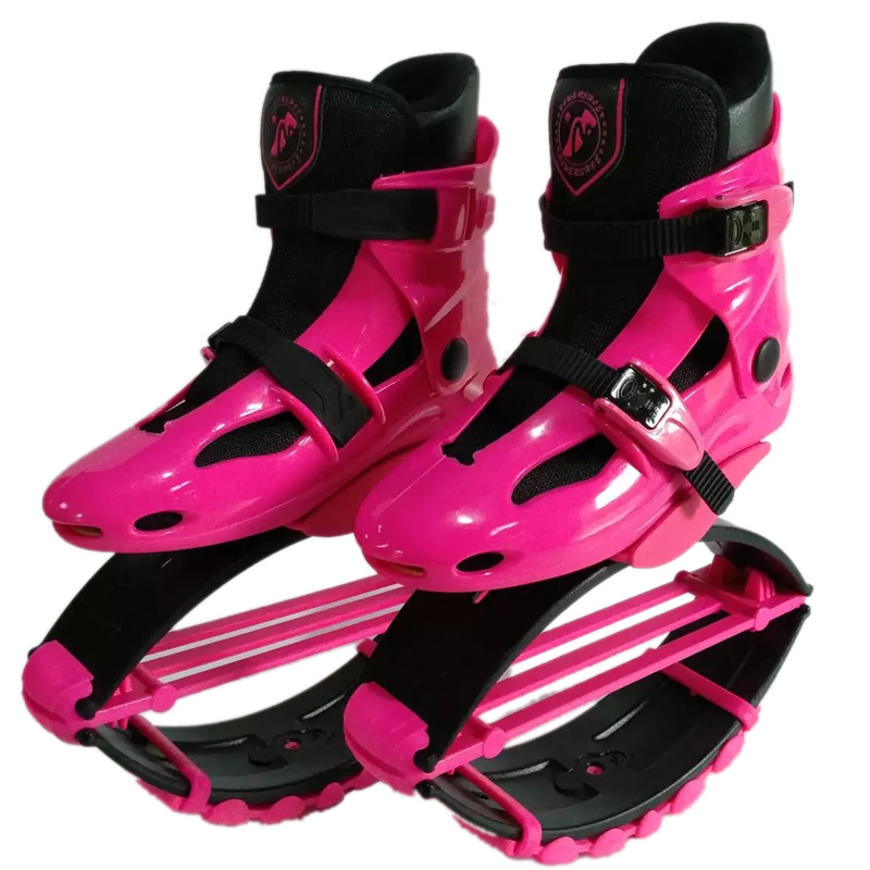 ФОТО 2017 New Arriva High Quality Cheap Jumps Shoes Pink Color Unisex Fitness Outdoor Jumps Shoes Bounce Sports Jumping Sneakers