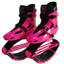 2017 New Arriva High Quality Cheap Jumps Shoes Pink Color Unisex Fitness Outdoor Jumps Shoes Bounce Sports Jumping Sneakers