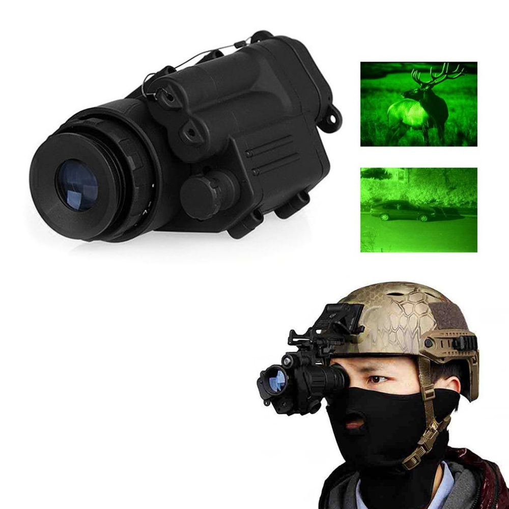 OUTAD kültéri vadász éjszakai látás riflescope monokuláris eszköz vízálló éjszakai látás védőszemüveg PVS-14 digitális infravörös megvilágítás