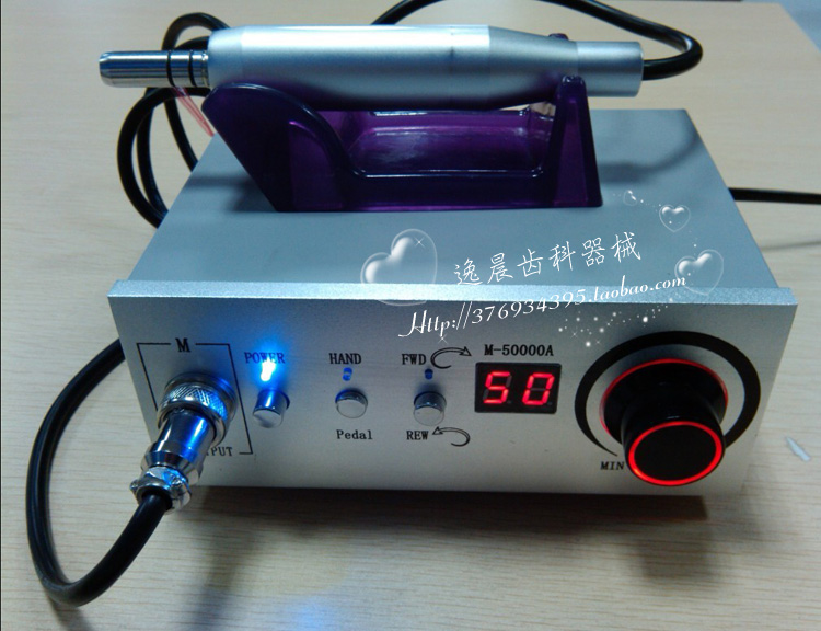 high speed 50 000 rpm dental micromotor non carbon