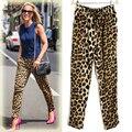 2017 Новая Мода Женщины Leopard Тонкий Стретч Леггинсы Женщин