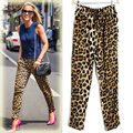 2017 New Fashion Woman Leopard Slim Stretch Leggings Women