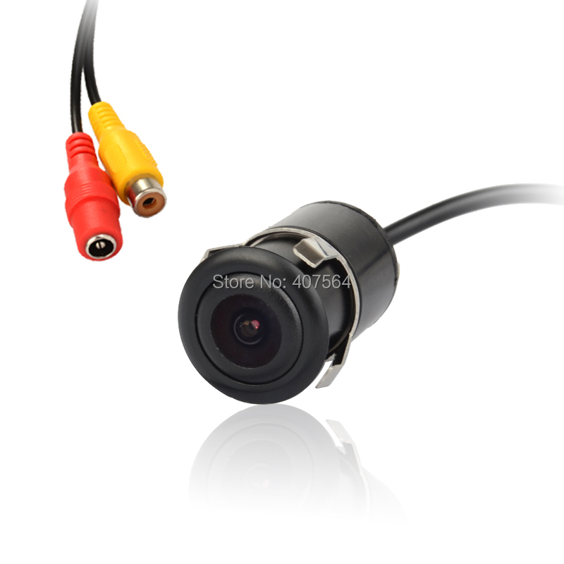 Factory selling, Waterproof Colorful Car Rear View camera, Reverse Backup camera for all car with 18.5 drill