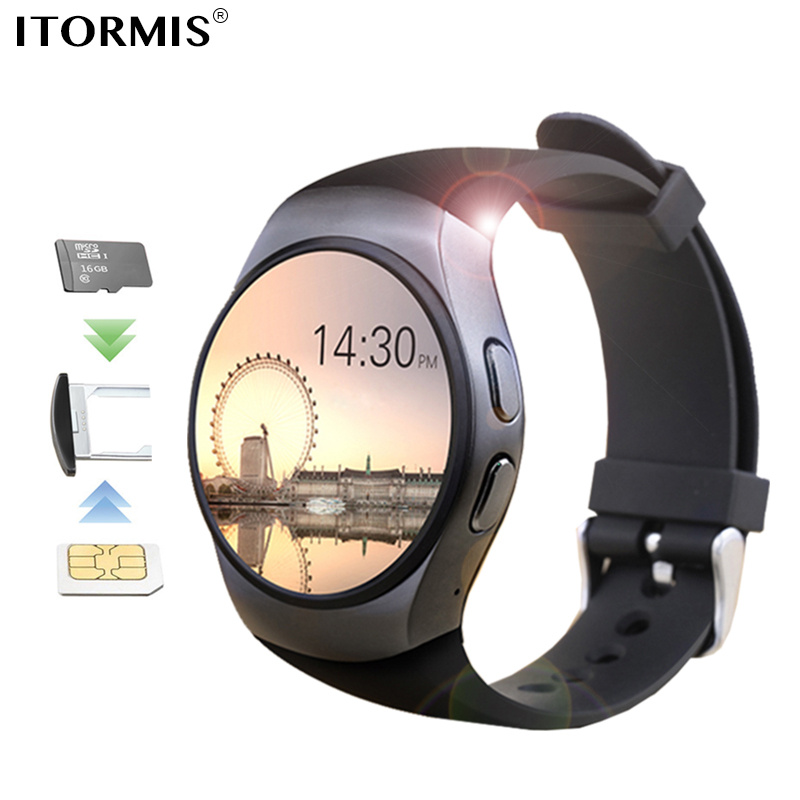 ITORMIS Bluetooth Smart Watch Phone SmartWatch support SIM TF Card Touch Screen Heart Rate Tracker for apple IOS Huawei Android itormis bluetooth gps smart watch smartwatch sim card phone watch fitness heart rate tracker multi sport mode for android ios