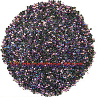 Wholesale SS6 2mm B Grade Hotfix Crystals Rhinestone Beads Pink AB 14400pcs Bag CPAM Free Use