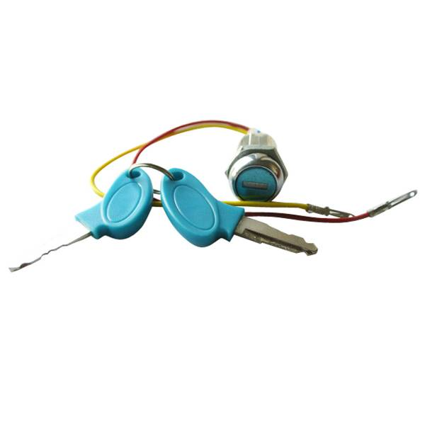 2-Wires Ignition Key Switch Lock For Kart Scooter Electric ATV Dirt Bike Motor