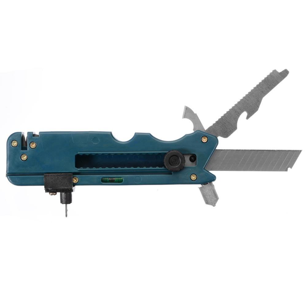 1pc 20-in-1 Multi-Functional Foldable Glass & Tile Cutter For Home Life Professiona Glass Cutter Six Wheel Metal Cutting Kit