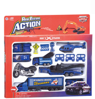 Nieuwe Model Auto Legering Plastic Auto Vliegtuig Speelgoed Gift Kinderen Truck Crane Motorfiets Truck Goedkope Toy Hoge Kwaliteit Dinky Speelgoed Voor Kinderen