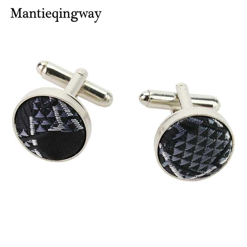 Mantieqingway геометрический плед Gravatas Запонки Набор для бизнеса 8,5 см черные корбаты галстук запонки платок Набор для костюма