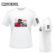 Eldrick Tiger Woods customize tshirt men Oversized regular tee modal print tops short sleeves tshirt homme  large size tee все цены