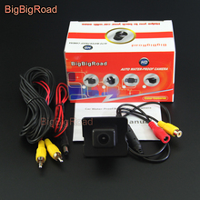 цена на BigBigRoad Car Rear View Camera For Mercedes Benz M ML W164 / R W251 2006 2007 2008 2009 2010 2011 2012 2013 Night Vision