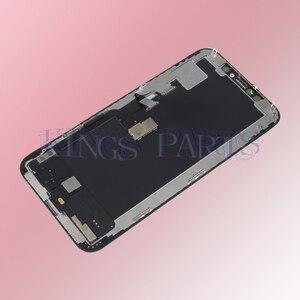 Image 3 - Original OEM 1:1 คุณภาพสำหรับ iPhone XS จอแสดงผล LCD Digitizer OLED/TFT Face Recognition ดี 3D