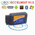 Super Mini Bluetooth V1.5 ELM327 OBD2 OBDII Auto Ferramenta de Diagnóstico ELM 327 Sem Fio Em Android do Windows Com 12 Tipos de Línguas