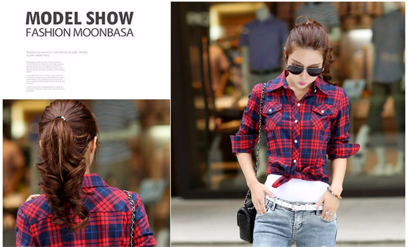 checked blouse 06
