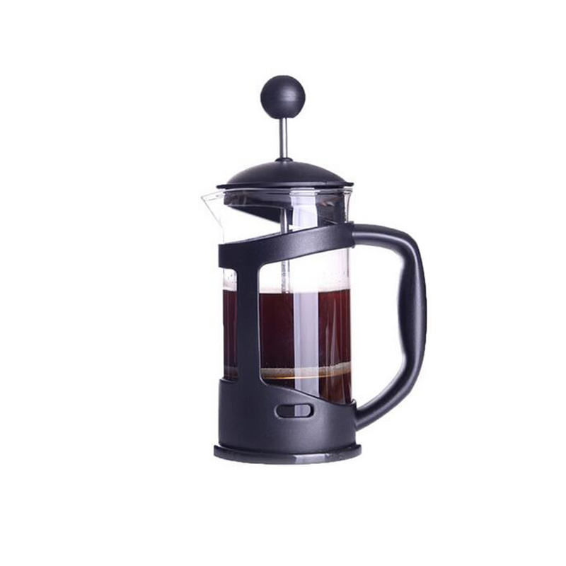 Pressure pot method french press coffee pot glass tea maker handmade coffee filter press pots