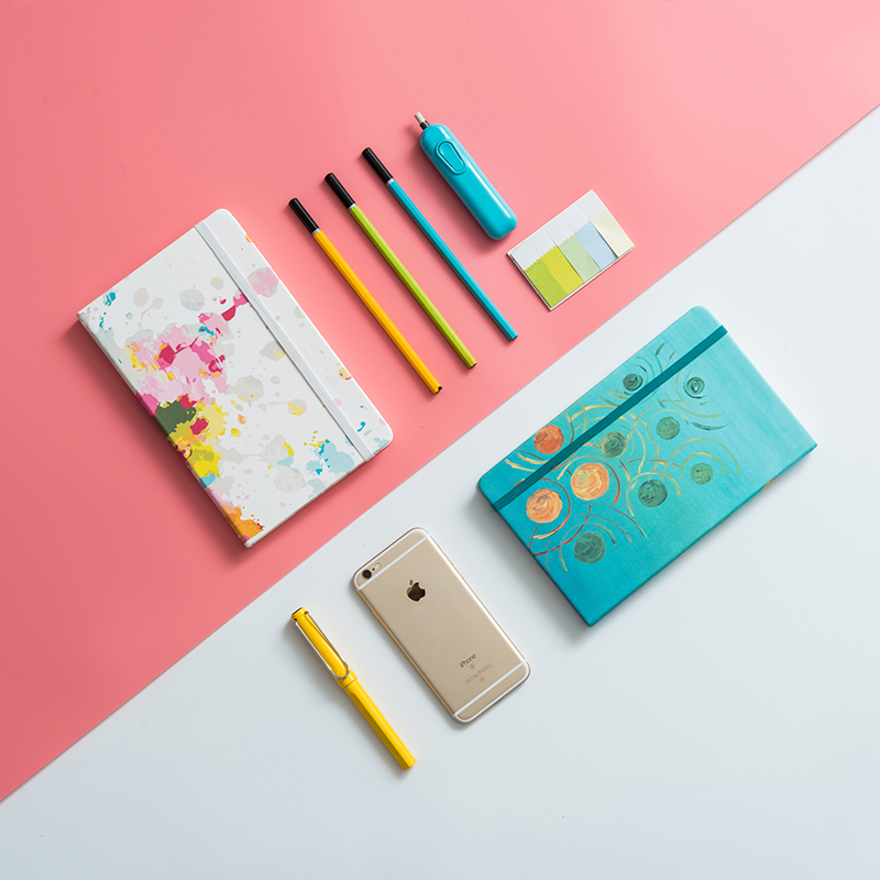 Dot Grid Notebook Stationery Core Business Drawing Chart Dotted Bullet Journal Bujo Notebooks Puntos Pointed Writing Pads : 91lifestyle