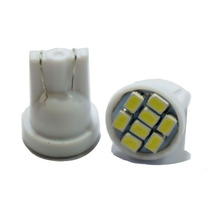 AORUNYEBAO 500X white Led T10 8 smd 1206 3020 8leds W5W  194 168 192 501 Car Interior lights auto Clearance bulb 12V car stying