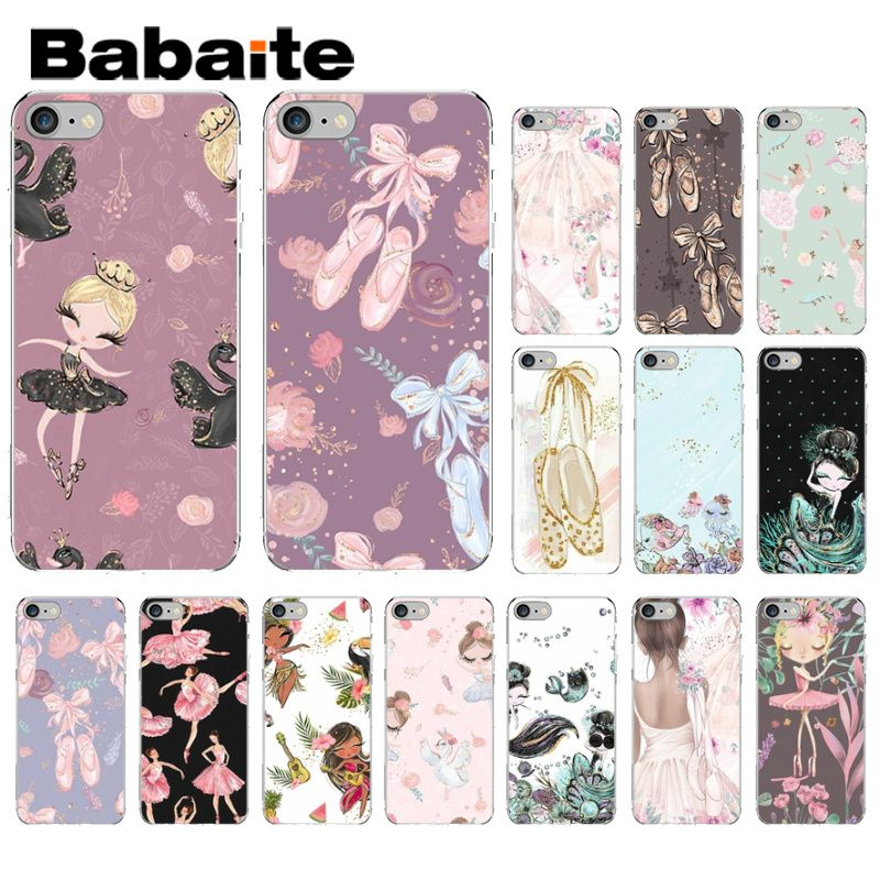 Babaite Princess Dress <font><b>Ballet</b></font> Dance pretty Soft Silicone Phone Cover for Apple <font><b>iPhone</b></font> <font><b>8</b></font> 7 6 6S <font><b>Plus</b></font> X XS MAX 5 5S SE XR Cover image