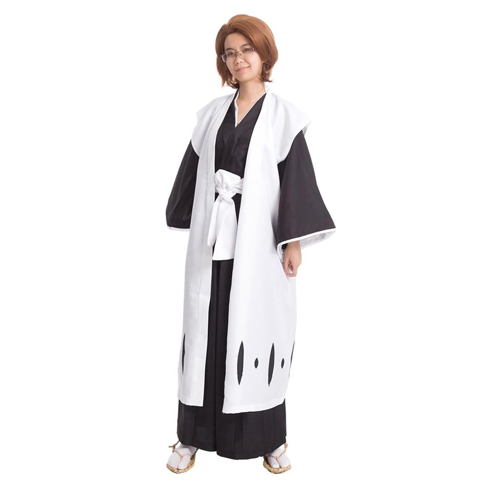 brdwn BLEACH Unisex Divisi 10th 5th 8th Captain Hitsugaya Toushirou Aizen Sousuke Kyoraku Shunsui Cosplay Costume Die Pa Kimono-in Anime Costumes from Novelty & Special Use    1