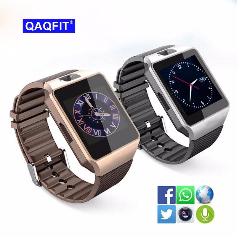 QAQFIT Bluetooth DZ09 Astuto Della Vigilanza Relogio Android Smartwatch Phone Call SIM TF Della Macchina Fotografica per IOS iPhone Samsung HUAWEI VS Y1 q18
