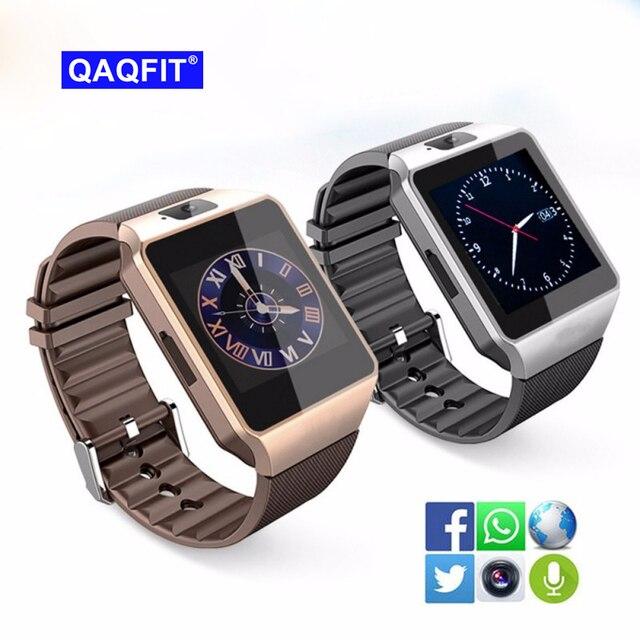 10fb07b7e7c QAQFIT Bluetooth DZ09 Smart Watch Relogio Android Smartwatch Phone Call SIM  TF Camera for IOS iPhone Samsung HUAWEI VS Y1 Q18