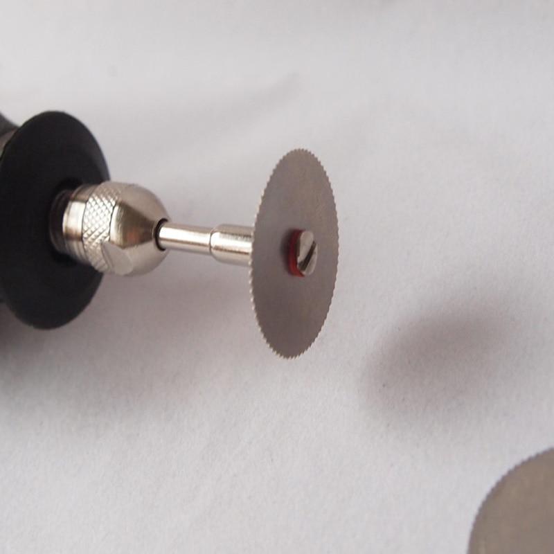 5 pcs 32mm disque de coupe en métal dremel outil rotatif lame de - Outils abrasifs - Photo 5