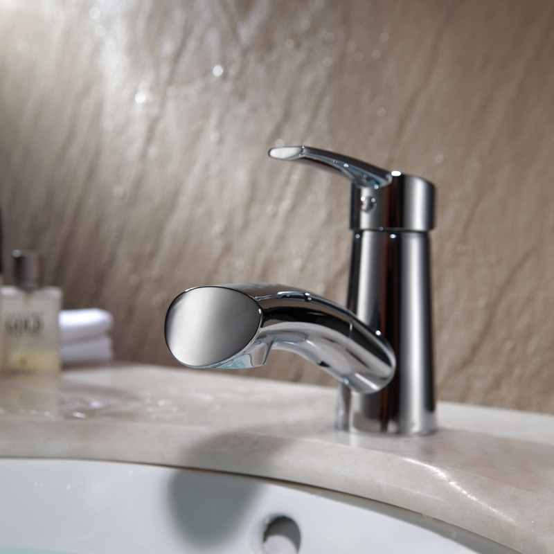 Incroyable Bathroom Faucet With Pull Out Sprayer Techieblogie Info