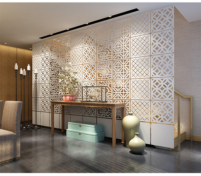 Hanging Room dividers partitions  Folding screen Decorative partition aluminium chain curtain paravent  Hanging mobile screens