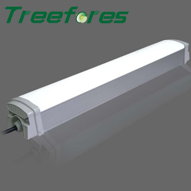 Aluminum IP65 T8 Tri Proof Light 40W 50W 60W 1200mm 4FT Led Batten Tube Lighting Outdoor Tunnel Lamp 6pcs lot led tri proof light ip65 waterproof dustproof led linear light led batten light 30w 2ft 40w 3ft