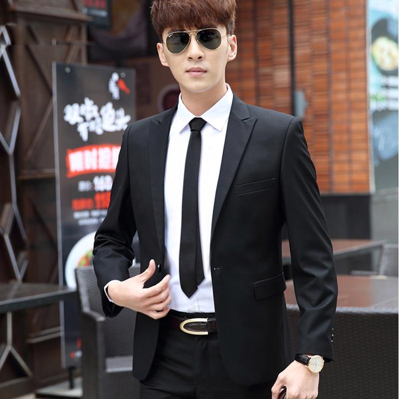 (Jacket+Vest+Pants)Men Slim Fit Suits Plus Size XS- 4XL Mens Black Wedding Suits With Pants Business Mens Formal Wear