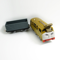 T0206 Electric Thomas And Friend Diesel 10 With A Carriage Trackmaster Engine Motorized Train Chinldren Child