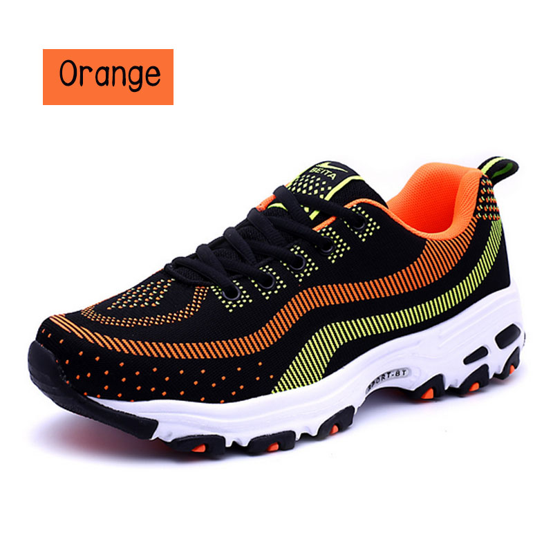 ФОТО POINT BREAK 2016 new men's summer air fly line sports shoes mesh running shoes