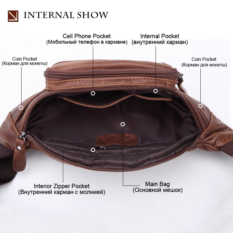 Travel Leather Male discount