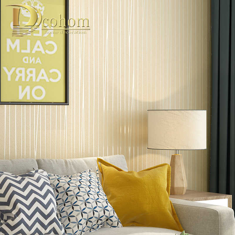 Полосатая настенная бумага для стен Современные фрески нетканые обои рулон фона гостиной. Papel de parede розовый серый домашний декор